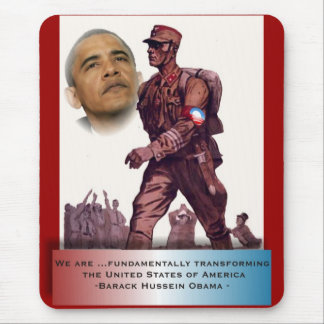 Fundamentally Transforming America Mouse Pad
