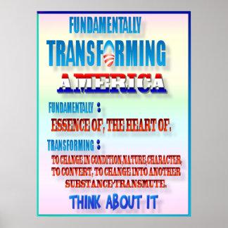 Fundamentally Transforming America Poster