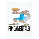 Fundamentals 5x7 Paper Invitation Card