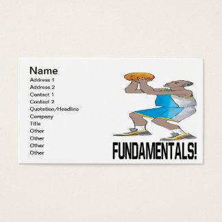 Fundamentals Business Card