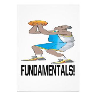 Fundamentals Personalized Announcement