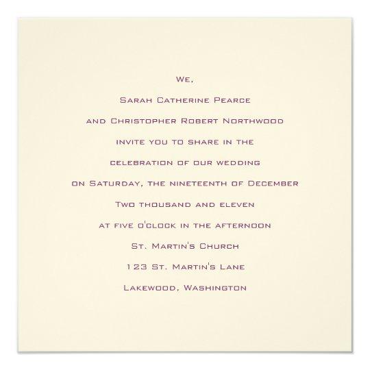 Fundamentos:: Bizancio:: Invitación del boda