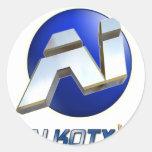 Fundamentos de Alkoty Etiqueta Redonda