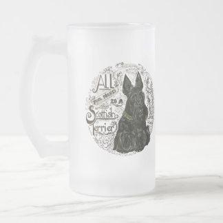 Fundamentos del escocés taza de cristal