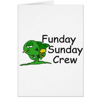 Funday Sunday Crew (Fish) Card