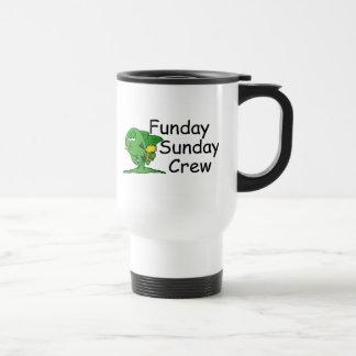 Funday Sunday Crew Fish 15 Oz Stainless Steel Travel Mug