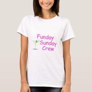 Funday Sunday Crew Pink T-Shirt