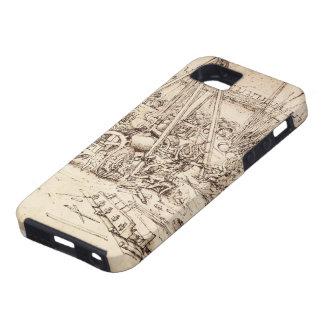Fundición del cañón de Leonardo DA Vinci- iPhone 5 Protector