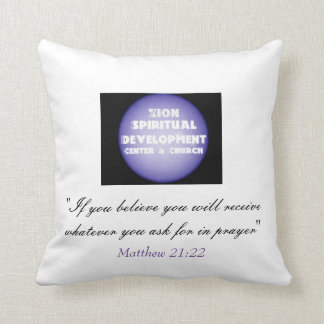 Fundraiser+Support+Sponser Pillow