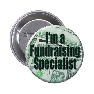 Fundraising 2 Inch Round Button