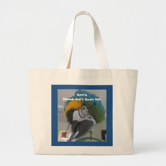 Fundraising Designs Featuring Loo Large Tote Bag