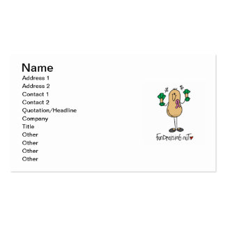 Fundraising Nut T-shirts and Gifts Business Cards