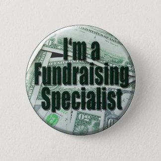 Fundraising Pinback Button