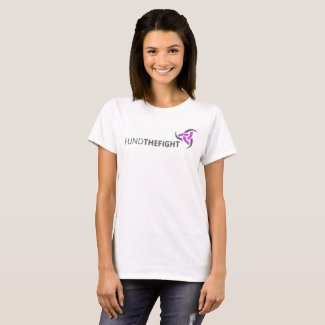 FUNDTHEFIGHT Basic Women's Tee