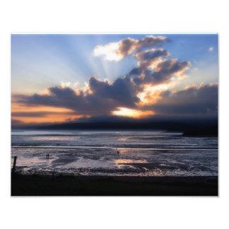 Fundy Sunset Print Photograph