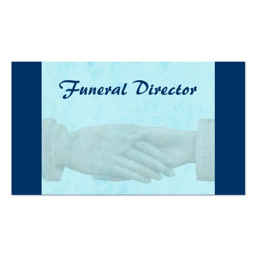 Funeral Business Card Zazzle