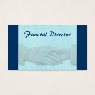 Funeral Business Card