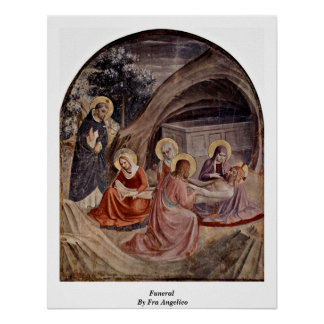 Funeral By Fra Angelico Print