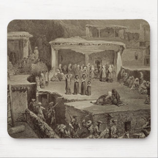 Funeral Ceremony in the Ruins at Akhaltchi, Dagest Mouse Pad