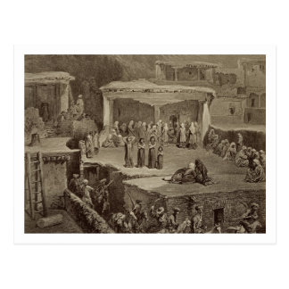 Funeral Ceremony in the Ruins at Akhaltchi Dagest Postcards