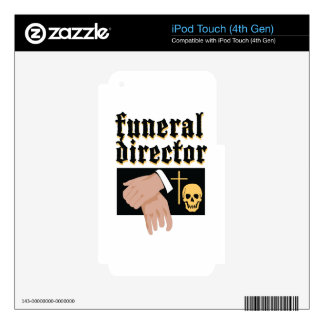 Funeral Director iPod Touch 4G Skin