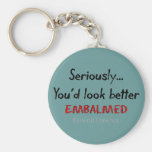 Funeral Director/Mortician Funny Hearse Design Key Chains