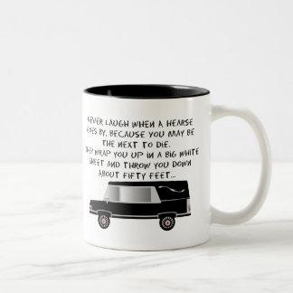 Funeral Director Mortician Funny Hearse Design Mug