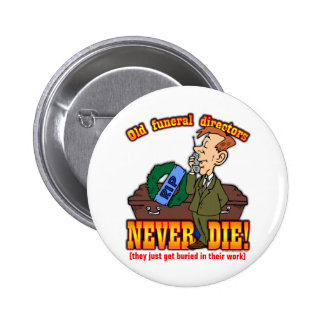 Funeral Directors Buttons
