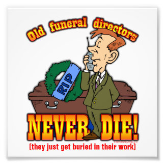 Funeral Directors Photograph