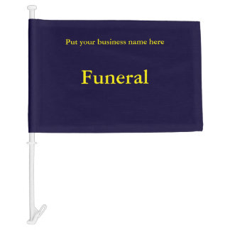 Funeral Flag for Cars and Trucks