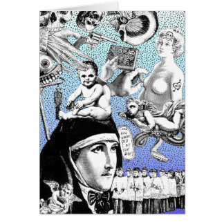 Funeral Games Collage Card