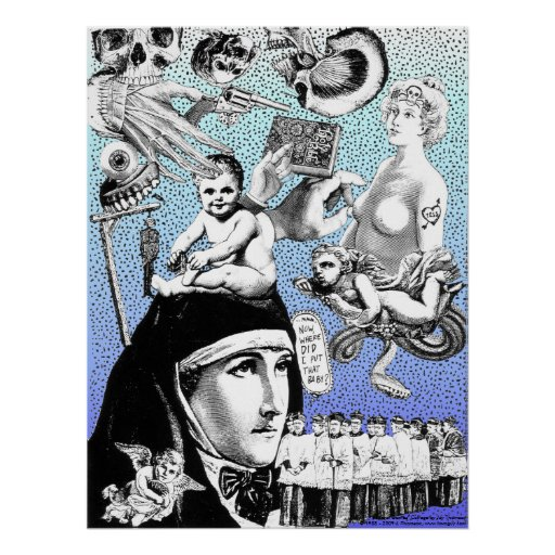 Funeral Games Collage Poster