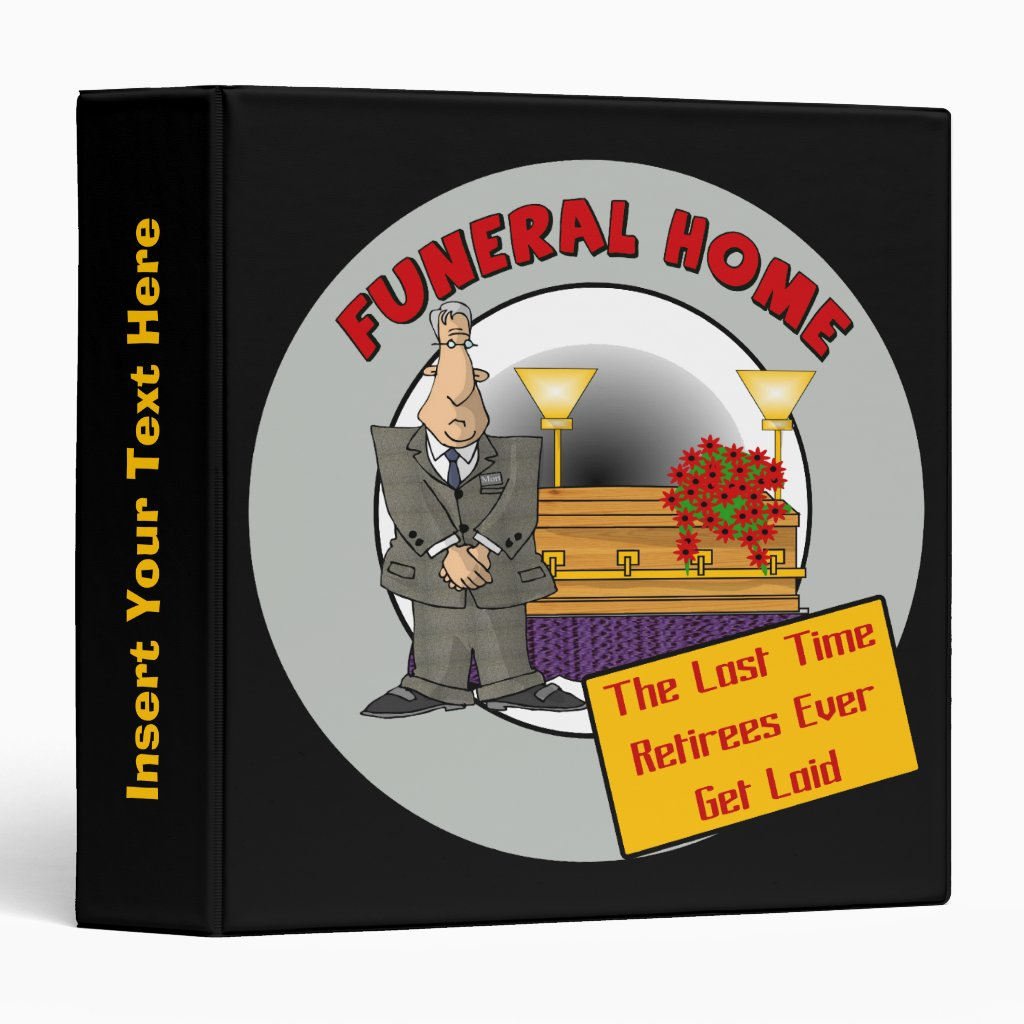 Funeral Home Avery Binder