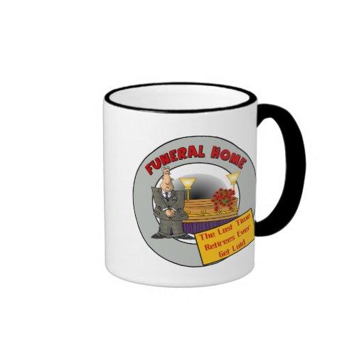Funeral Home Ringer Coffee Mug