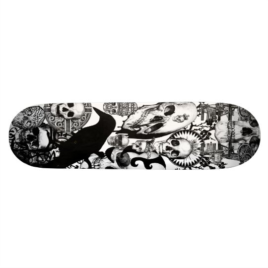 Funeral Home wallpaper Skateboard Deck