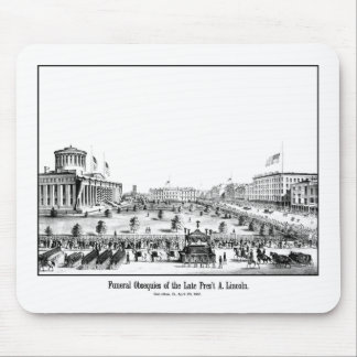 Funeral Obsequies Of President Lincoln Mousepads
