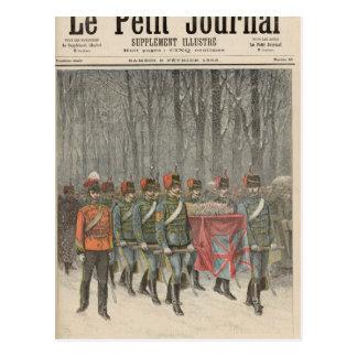 Funeral of Albert Victor  Duke of Clarence Postcard