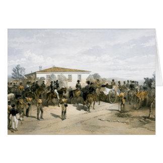 Funeral of Field Marshal Lord Raglan Greeting Card