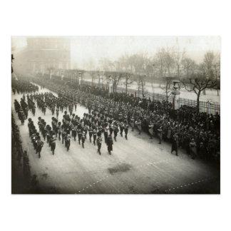 Funeral of General Joffre, 8 Jan 1931 Postcard