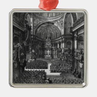 Funeral of Marie-Louise d'Orleans  Queen of Metal Ornament