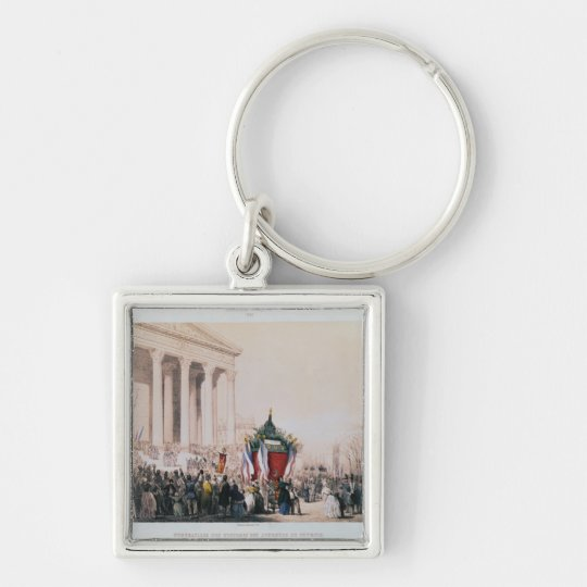 Funeral of the victims of the La Madeleine Keychain