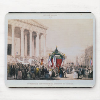 Funeral of the victims of the La Madeleine Mouse Pad