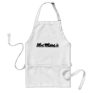 Funeral Procession Adult Apron