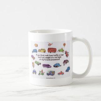 Funeral Procession Coffee Mug