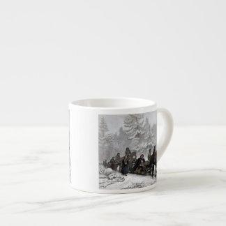 Funeral Procession Espresso Cup