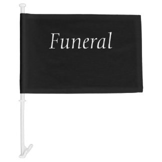 Funeral Procession Flag