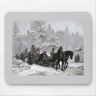 Funeral Procession Mousepads