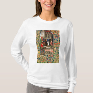 Funeral procession with grave-diggers T-Shirt