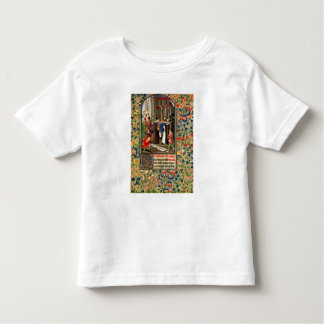 Funeral procession with grave-diggers toddler t-shirt