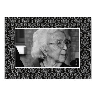 Funeral Remembrance Death Notice Photo Cards